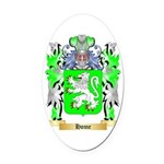 Home Oval Car Magnet