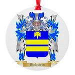 Holzstein Round Ornament