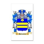 Holzstein Rectangle Car Magnet