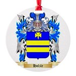 Holzle Round Ornament