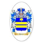Holzl Sticker (Oval 50 pk)