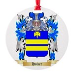 Holzer Round Ornament