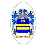 Holzdorf Sticker (Oval 10 pk)