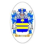 Holzberg Sticker (Oval 50 pk)