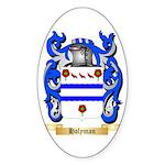 Holyman Sticker (Oval 50 pk)