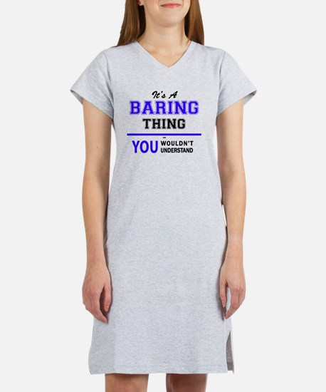 Funny Bared to you Women's Nightshirt