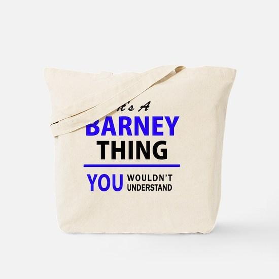 Cute Barney Tote Bag