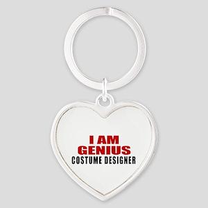 I Am Genius Costume designer Heart Keychain