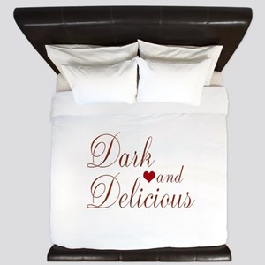 Dark and Delicious King Duvet