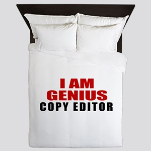 I Am Genius Copy editor Queen Duvet