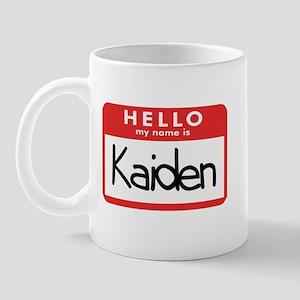 Hello Kaiden Mug