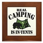 Real Camping Framed Tile