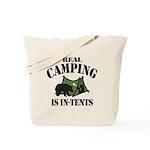 Real Camping Tote Bag