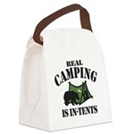 Real Camping Canvas Lunch Bag