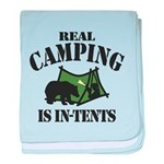 Real Camping baby blanket