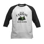 Real Camping Baseball Jersey