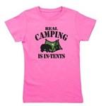 Real Camping Girl's Tee