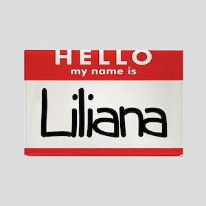 Hello Liliana Rectangle Magnet