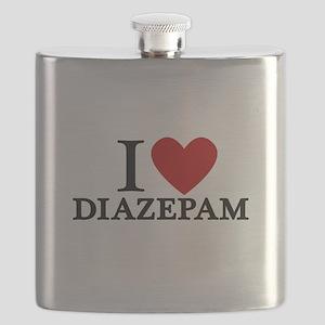 I Love Diazepam Flask