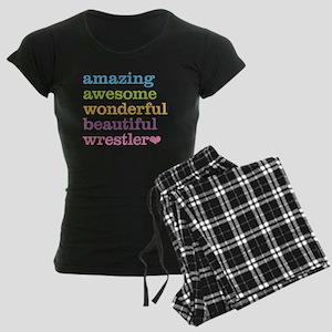Awesome Wrestler Women's Dark Pajamas