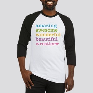 Awesome Wrestler Baseball Jersey