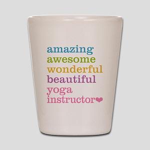 Yoga Instructor Shot Glass