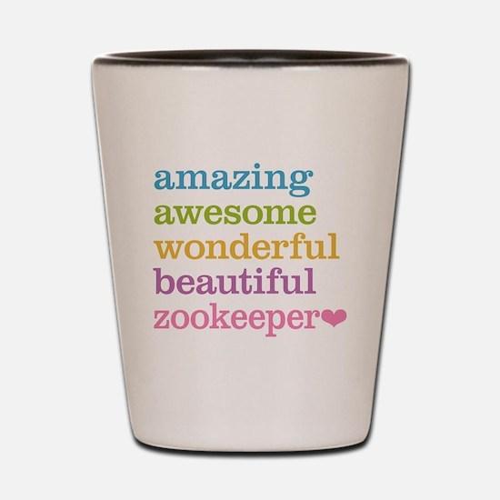 Zookeeper Shot Glass