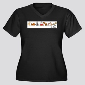 dogaddict Plus Size T-Shirt