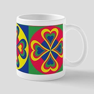 Folk Hearts Mugs
