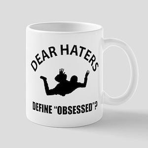 Base Jumping Define Obsessed? 11 oz Ceramic Mug