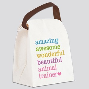 Animal Trainer Canvas Lunch Bag