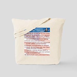 Top Ten Reasons Liberals Are Tote Bag
