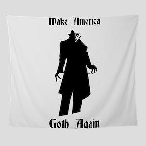 make america goth again Wall Tapestry