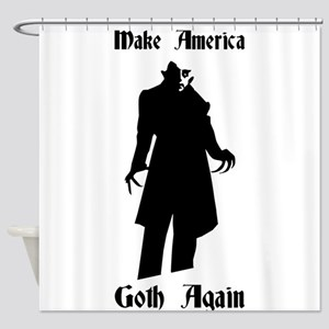 make america goth again Shower Curtain