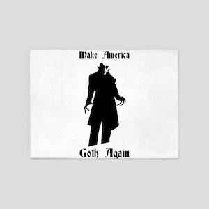 make america goth again 5'x7'Area Rug