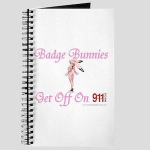 Badge Bunnies Get Off Journal