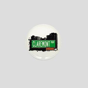 Claremont Pkwy, Bronx, NYC Mini Button