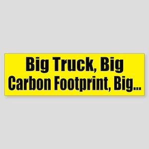 Big Truck Bumper Sticker