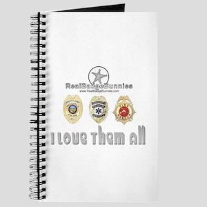 Badge Bunnies Love Them All Journal