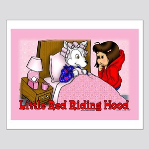 Red Riding Hood Small Poster