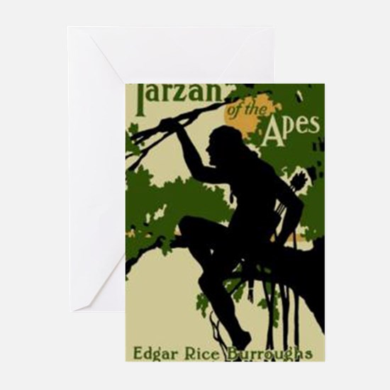 Tarzan of the Apes 1914 Greeting Cards