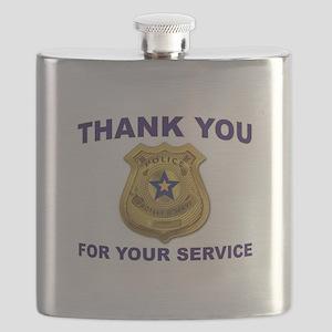 POLICE THANKS Flask