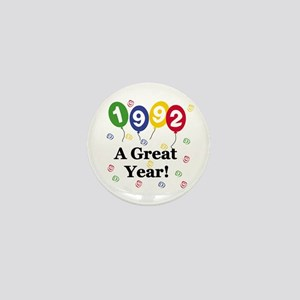1992 A Great Year Mini Button
