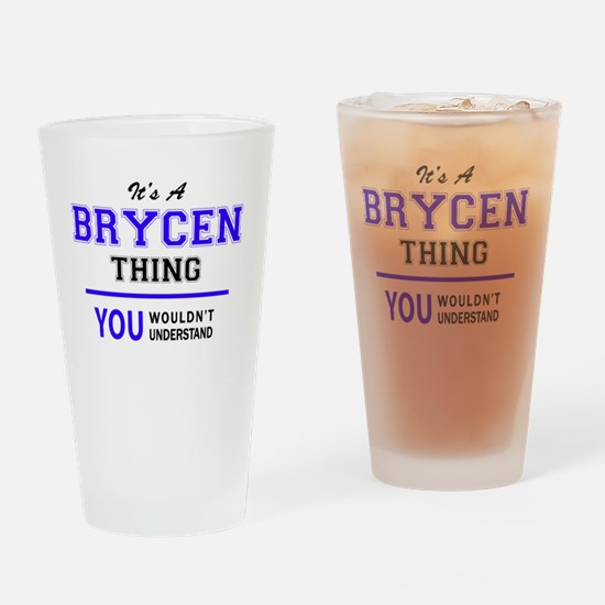 Unique Brycen Drinking Glass