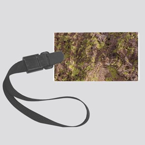 Lichen and Rock Large Luggage Tag