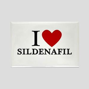 I Love Sildenafil Rectangle Magnet