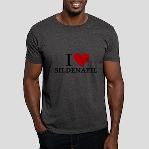 I Love Sildenafil Dark T-Shirt