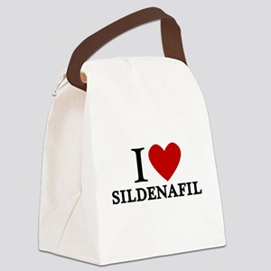 I Love Sildenafil Canvas Lunch Bag