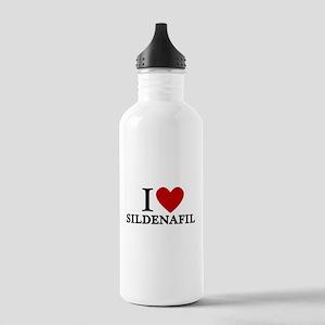 I Love Sildenafil Stainless Water Bottle 1.0L