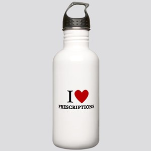 I Love Prescriptions Stainless Water Bottle 1.0L
